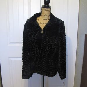 New!  Women Jacket Dress Deco Glam Black Swirl XL
